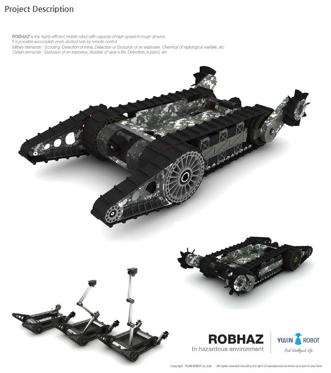 YUJIN ROBOT ROBHAZ