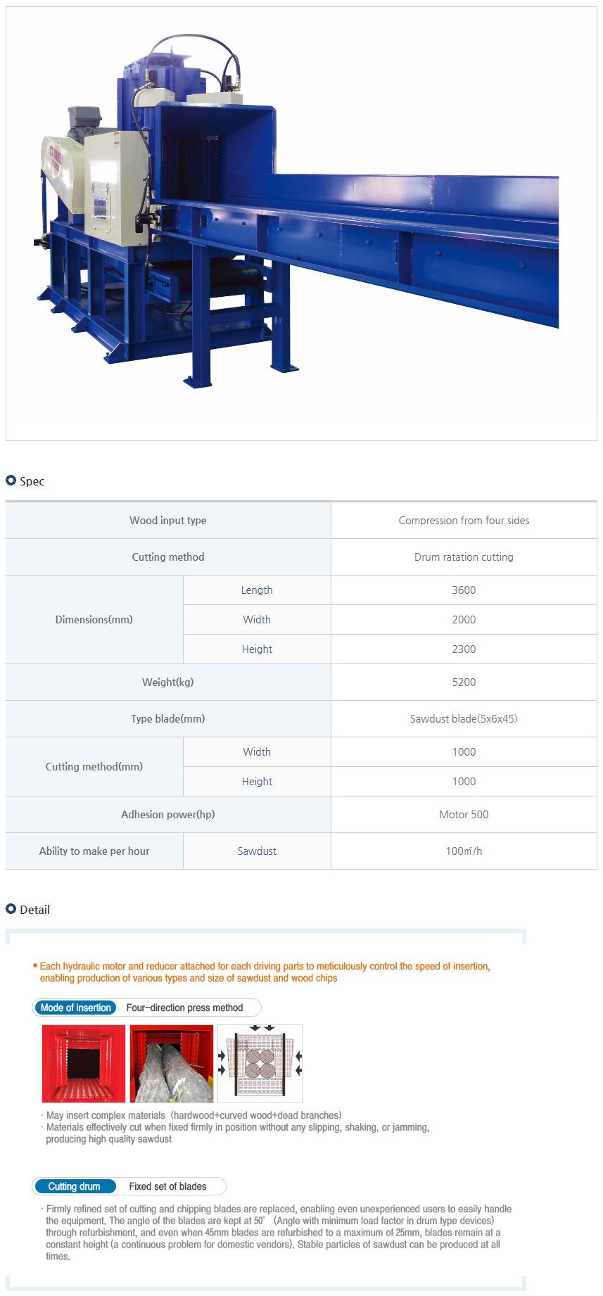 Yulim Machinery Fixed-type YM-Series