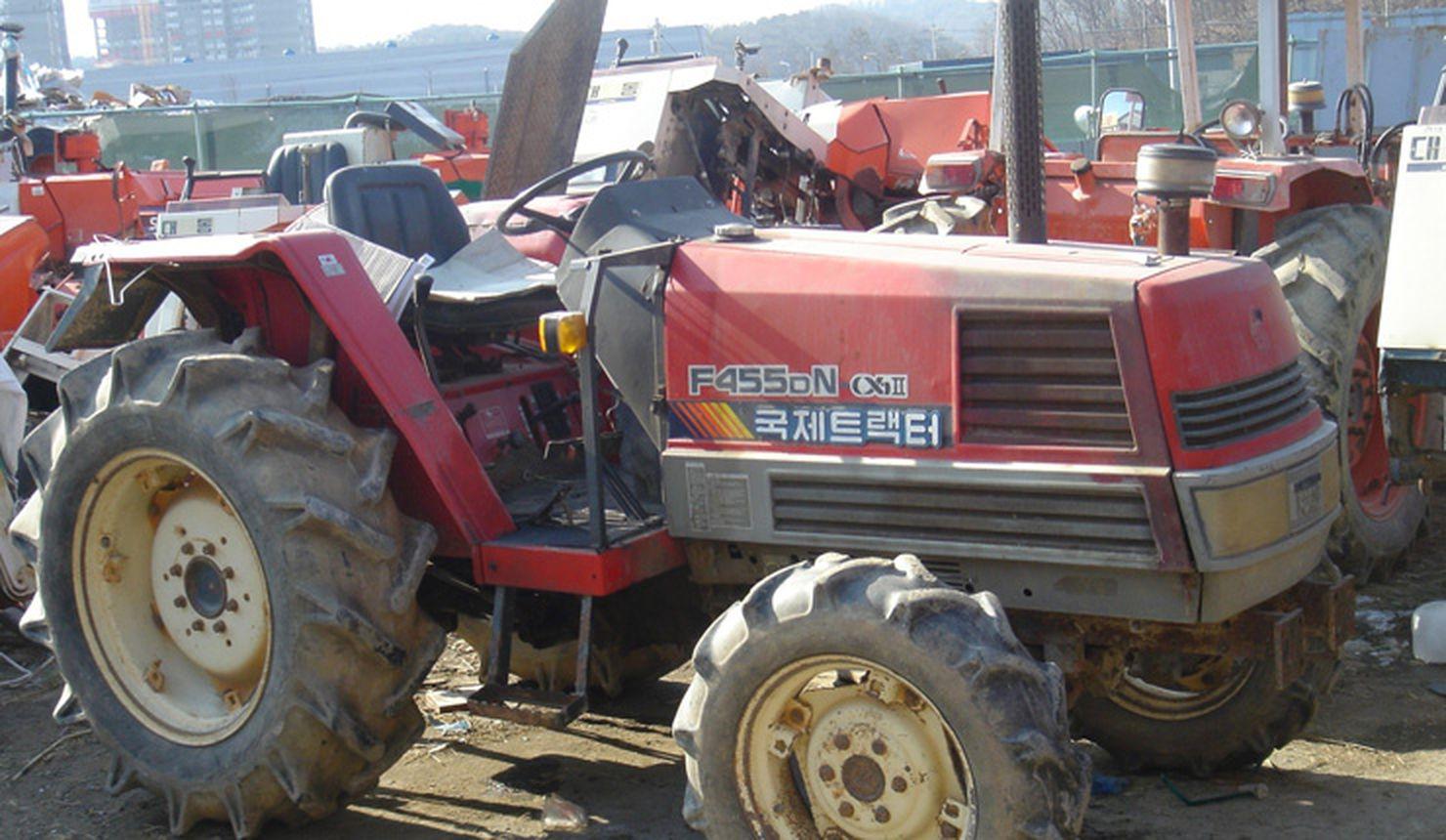 WORLD KOREA - KUKJE F455 YANMAR TRACTOR - F455