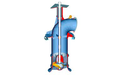 CW-HYDRO - Vertical Axial Flow Pump - VA - One Suction Pumps, Double