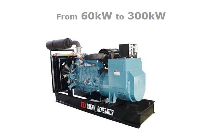 DAEJIN GENERATOR SYSTEMS - Diesel Generator Sets - DOOSAN