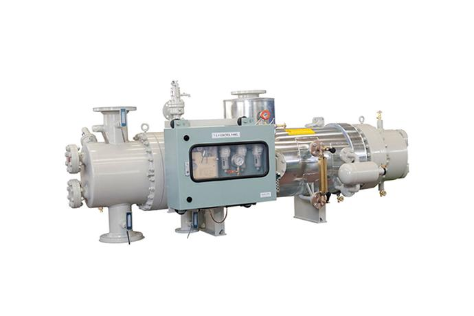 DONGHWA ENTEC - Tank Cleaning Heater Marine, Ship, Gas