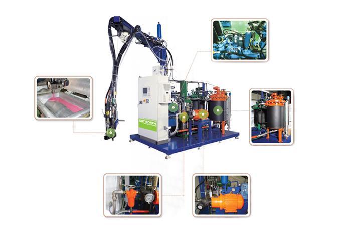 High Pressure Foaming Machine  details