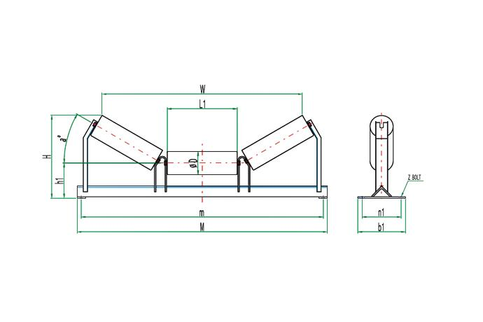 Carring Roller & Stand  details