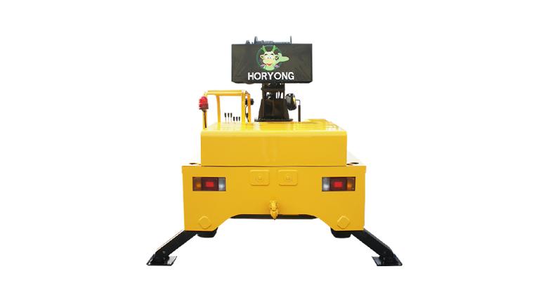 Electric Mobile Crane ELECAR-10000 details