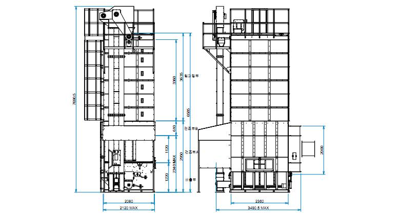 Circulation Type Dryer IDCD-Series details