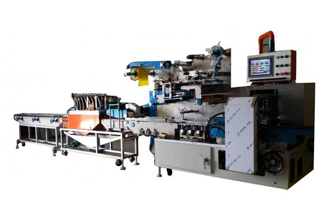 Semi-Automatic Portable Wet Tissue Making and Packing Machine IP-HBL700 details