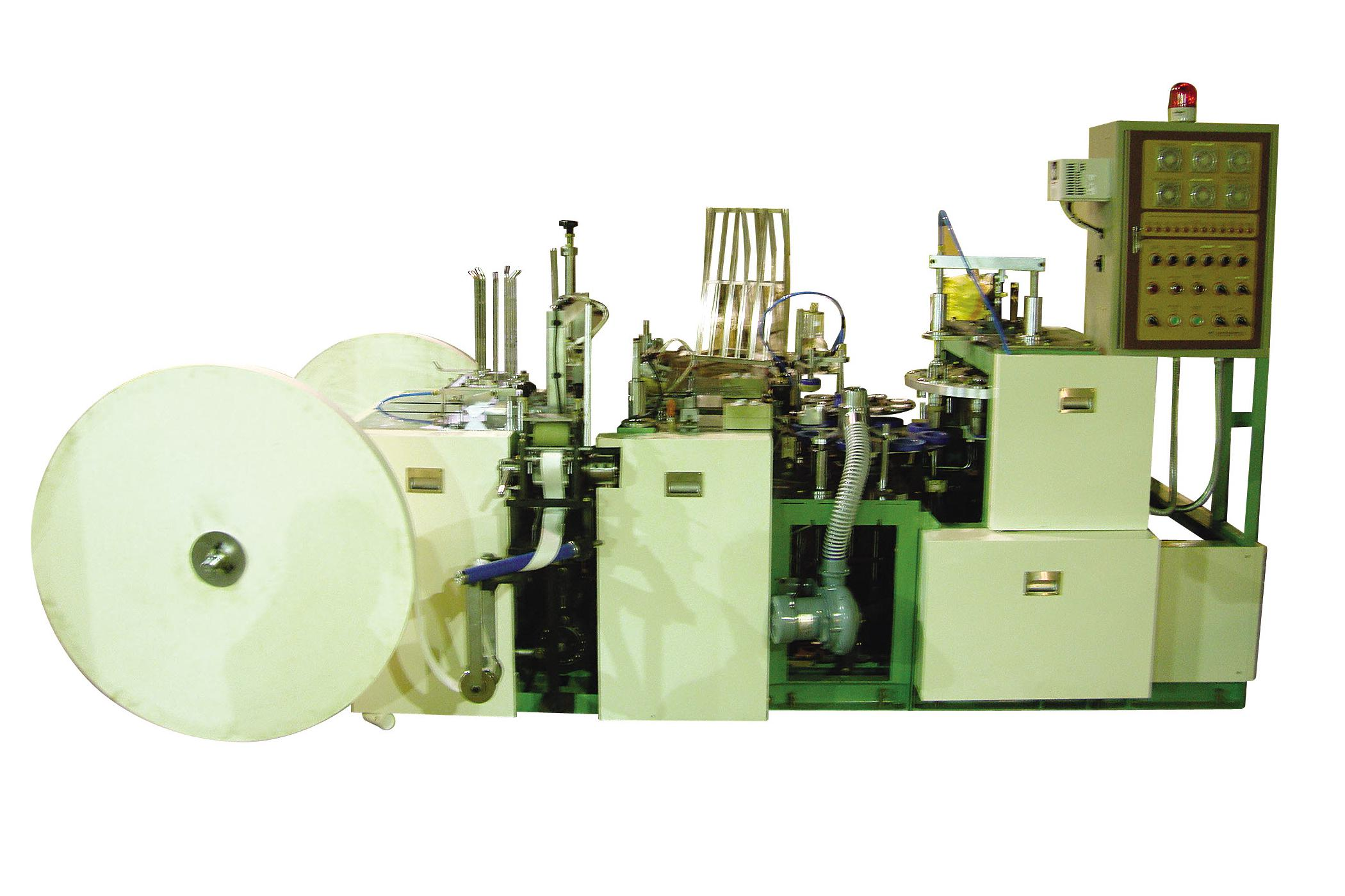 Jinsung ENT - Automatic Paper Cup Making Machine with Handle
