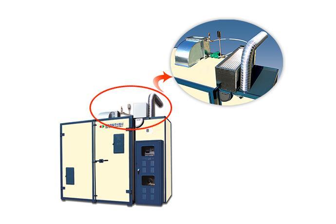 Downwind Heat Reclaimer TJHR-40 details