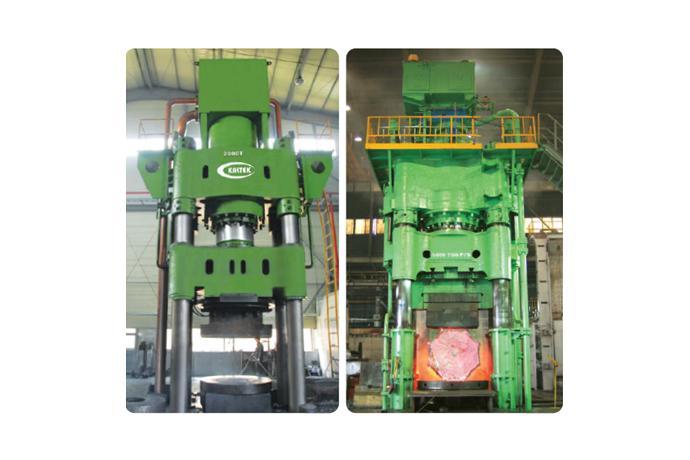 Kaltek - Hydraulic Press Mechanical Division, Forging Business