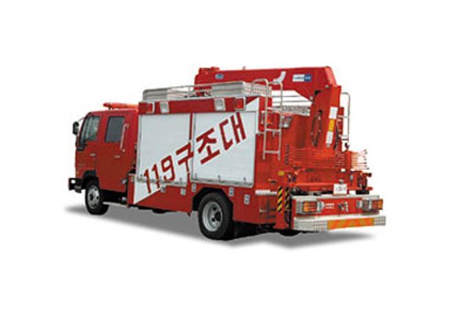 Rescue Truck  details