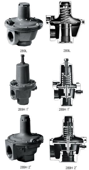 KFNGS - Relief Valve Regulator & Relief Valve, Gas Filter