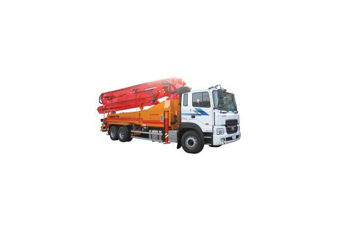 KOMAC - Concrete Pump Truck - K36ZX170 - Breaker, Crusher