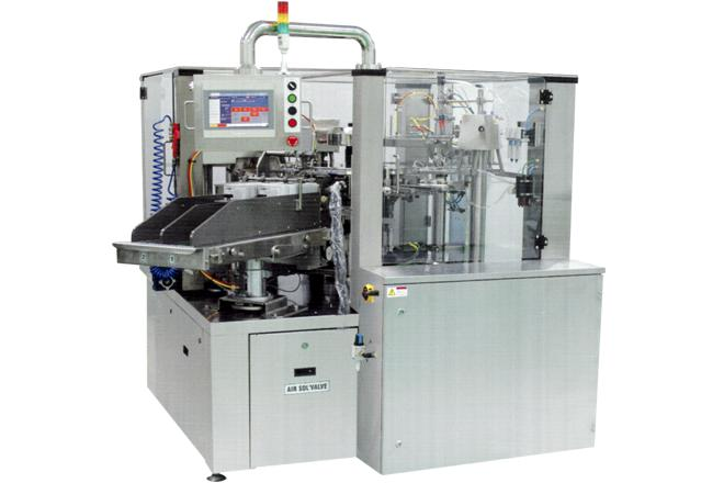 NAOPACK - 2열타입 Automatic rotary pouch packing machine