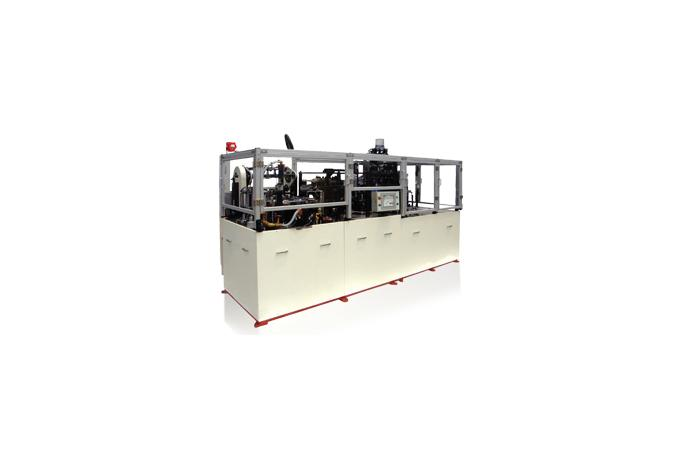 Desto Cup & Container Forming Machine EAGLE-1800 OW-D/B details