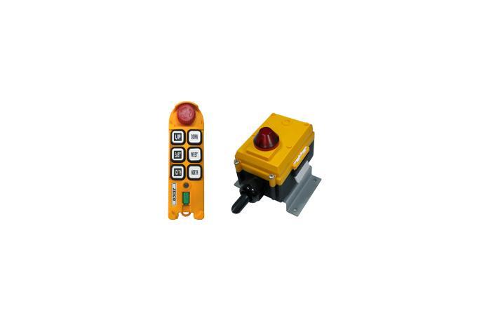 Handheld 6 Buttons Remote Controller JREMO 6K details