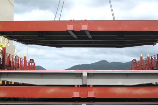 SMS-SME - Pontoon Hatch Cover Hatch Cover, Lashing Bridge