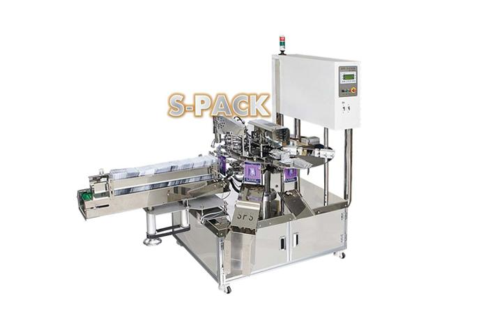 Rotary Type 1 Lane Mask Pack Packaging Machine SPS-R830M details