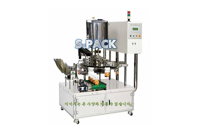 Rotary Type Grain Automatic Packaging Machine (Weighing)  details