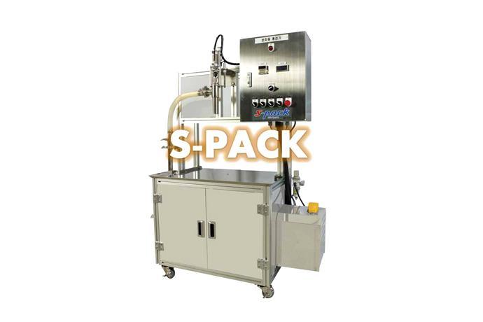 Piston Filling Machine (Large Volume Pump Type) SPS-SA50 details