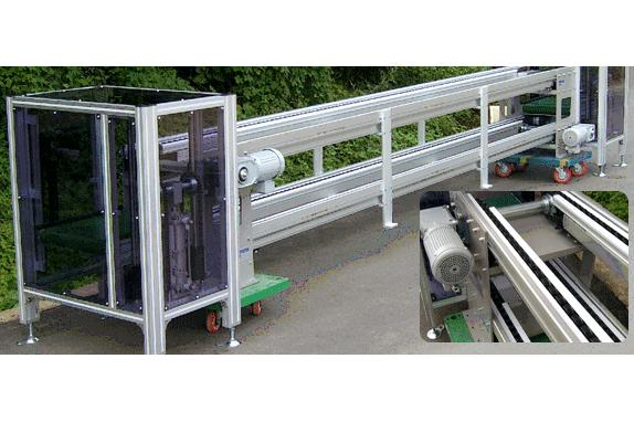 UNIVEYOR - Free Flow Chain Conveyor - FFC - Products