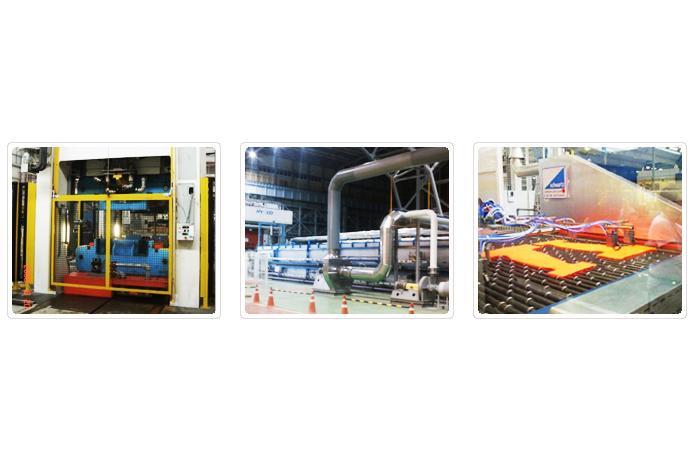 HYUNDAI WIA - Hydraulic press - Hot forming press line