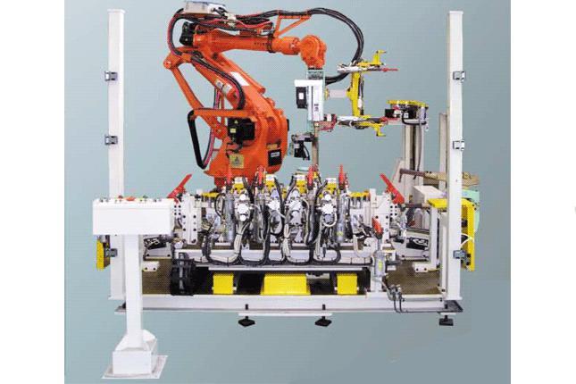 Woojin Engineering - Spot Welding Machines for Auto Body