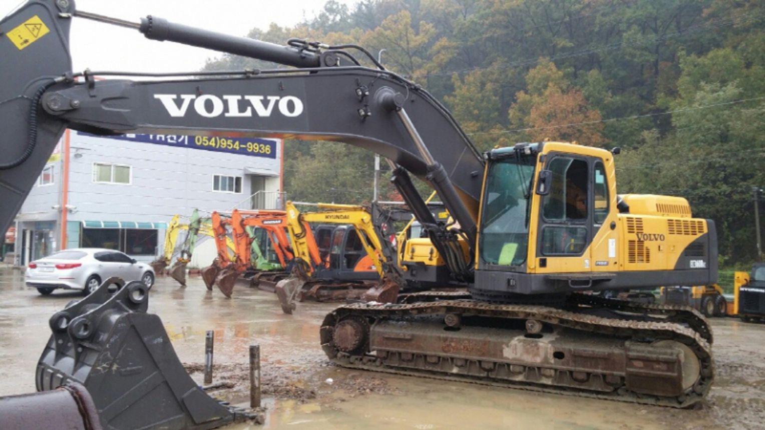 SOOSUNG - Used VOLVO Excavator, EC360B Prime - EC360B - Used