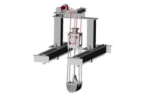 Bottom Dross Removal Robot | YUJIN MS - Komachine